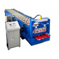 Buy cheap Colored Steel Roofing Sheet Roll Forming Machine Corrugated Steel Sheet Making Machine from wholesalers