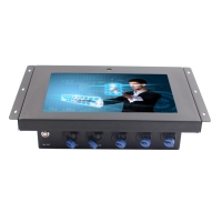 Buy cheap Fanless IP65 10.1 Waterproof Panel PC 350nits With 5MP Webcam from wholesalers