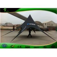 Buy cheap Professional Black Star Shade High Peak Marquees / Tent For Family from wholesalers