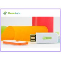 Buy cheap USB Flash Memory Plastic Promotional USB Card / Plastic USB Flash Drive from wholesalers