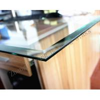 Buy cheap 5MM bevel edge toughened glass with CCC certificate from wholesalers