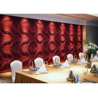 Buy cheap Eco-friendly Plant Fiber Modern 3D Wall Panels from wholesalers