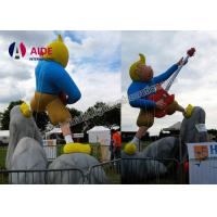 Buy cheap Guitar Boy Shape Inflatable Cartoon Characters Inflatable Party Decorations from wholesalers