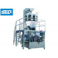 Buy cheap Stainless Steel Automatic Packing Machine Rotary Type Chocolate Bean Packaging from wholesalers