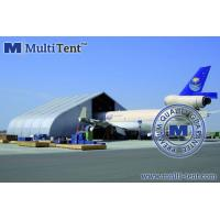 Buy cheap Curved Aircraft Hangar Tent from wholesalers