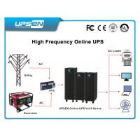 Buy cheap Three Phase Uninterrupted Power Supply Wide Input Voltage For Railway Control Room from wholesalers