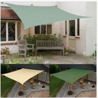 Buy cheap Lighweight patio sun shades Rectangle Shade Sails Shelter Cover 10X10 inch from wholesalers