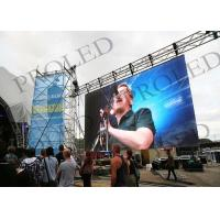 Buy cheap P3.91 / P4.81 Indoor Stage LED Screen Rental Full Color Animation Function from wholesalers