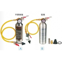 Buy cheap Auto AC Tool Air conditioning pipe cleaning bottle Aluminum bottle product
