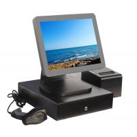 Buy cheap Aluminium Alloy Point Of Sale Touch Screen Computer With Thermal Printer And Cash Drawer from wholesalers