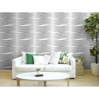 Buy cheap Fashion Modern Textured 3D Wall Decor Panels / 3 Dimensional Wallpaper Heat-proof from wholesalers