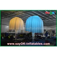 Buy cheap White Club Bar Inflatable Lighting Decoration Jellyfish Nylon Cloth For Party from wholesalers