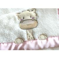 Buy cheap 240-400gsm Baby Sleep Wrap Swaddle Sherpa Deer Pattern For Girls from wholesalers