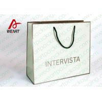 LOGO Printed Paper Favor Bags With Handles
