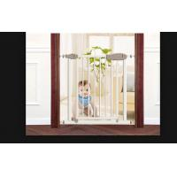 Buy cheap Lightweight One Hand Remove Babies Safety Gates For Stairs , Easy To Install from wholesalers