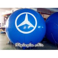 Buy cheap Pvc Helium Balloon, Blue Inflatable Floating Ball for Advertisement and Business Show from wholesalers
