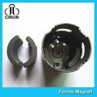 C5 Grade Permanent Ferrite DC Motor Magnet High Performance R13.15*R8.8*H21mm