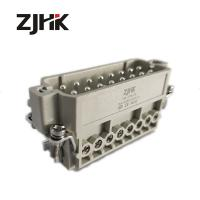 Buy cheap HA 016 F Heavy Duty Electric Connector 16 Pin male 16 Amp 240v   screw  terminal  16pin screw insert from wholesalers