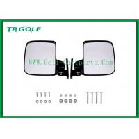 Buy cheap Foldable Golf Cart Side Mirrors With LED Light / Golf Buggy Accessories from wholesalers