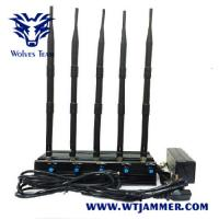 Buy cheap Desktop style WIFI2.4g 5.8G GPS Drone Jammer from wholesalers