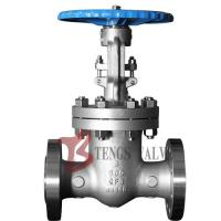 Buy cheap A351 CF8 / CF8M Cast Steel Gate Valve , Double Flanged Gate Valve With Handwheel from wholesalers