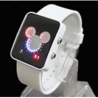 Buy cheap Round led silicone watch of Distributors wanted Gift item from wholesalers