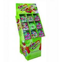Buy cheap Green Paper Floor Candy Display Stands For Promotion Snacks , CMYK / Pantone Printed from wholesalers