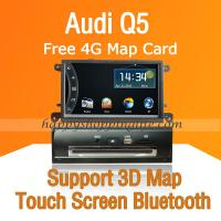 Buy cheap Audi Q5 DVD Navigation with Digital TV Touchscreen USB SD from wholesalers