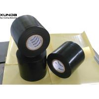 Buy cheap Black Color 0.76mm Thickness Anti Corrosion Pipe Tape With Polyethylene Backing from wholesalers