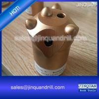 China Tapered button bits socket drill bits for jack hammer 32mm 36mm 38mm 40mm 41mm on sale