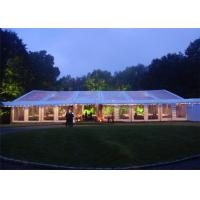 Buy cheap Large Wedding Tents 100 People Flame Retardant With Decoration Cellings from wholesalers