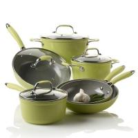 Buy cheap 10 Piece Forged Aluminum Nonstick Pan Set With Plastic Handle from wholesalers