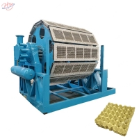 Buy cheap 1470mm×470mm 15 Plates/Min Egg Tray Forming Machine from wholesalers
