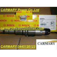 Buy cheap Bosch common rail injector 0445120123 for Cummins ISBE 4937065 from wholesalers