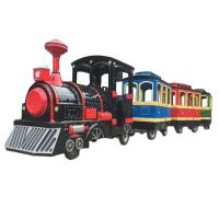 Buy cheap Amusement Park Kids Arcade Machine Electric Trackless Train Rides On Car from wholesalers