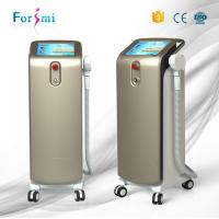 Buy cheap 2018 best effective non-stop 12 hours working best laser hair removal machine with brushed metal handle from wholesalers