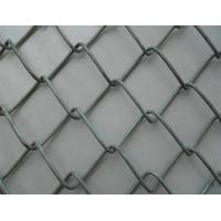 Buy cheap Thickness 2.0mm PVC Chain Link Fencing  50 * 100mm Size For Garden / Parks product