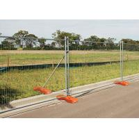 Buy cheap 50X100MM Removable Building Site Security Fencing Panels For Major Public from wholesalers