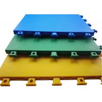 Buy cheap Customized Color Outdoor Court Flooring Slip Friction ≥ 0.45 Excellent Denoise And Grip product