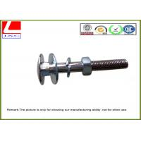 Buy cheap Professional Free Machining Stainless Steel Nuts , Custom Machined Parts With Zinc Plating from wholesalers