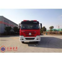 Buy cheap 6x4 Drive Type Foam Fire Truck With Flat Top Metal Forward Turnover Cab from wholesalers