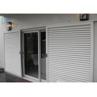 Buy cheap Sun Shade Movable Sliding Aluminium Louvre Windows with Lockable Handle from wholesalers