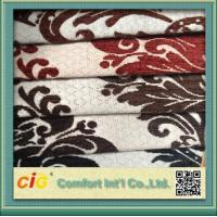 Buy cheap upholstery chenille jacquard sofa fabric Woven Polyester Sofa Upholstery Fabric Width 150cm product