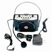 Buy cheap Portable amplifiers with microphone input for educate speaker from wholesalers