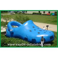 Buy cheap Blue Giant Inflatable Shoe Polyester Cloth Inflatable Advertising Products from wholesalers