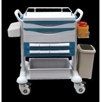 Quality YJ-311 Stainless Steel Medical Instrument Trolley Double Lock And Anti - Skid for sale