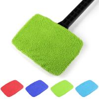 Buy cheap Microfiber Multi Function Window Cleaning Brush Towel Cover Car Home Glass Cleaning Tools Cover Dust Brush Cover from wholesalers