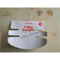 Buy cheap Baby Clothing Hang Tags 350G Paper Hanger Card With 2 Color Printing from wholesalers
