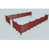 Buy cheap Environmental WPC Construction Railing For Sunshade & Decoration from wholesalers
