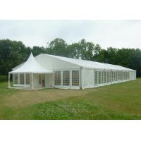 Buy cheap Waterproof PVC Wedding Party Tent , White Fabric Roof Garden Party Marquee from wholesalers